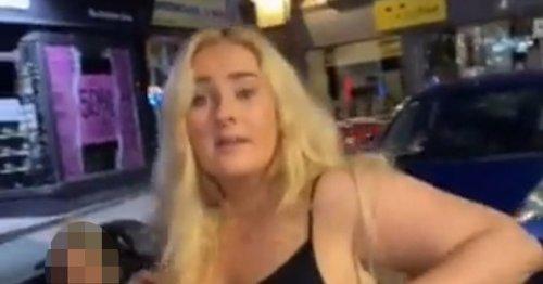 Woman filmed calling man N word in vile rant as police probe 'racial hate crime'