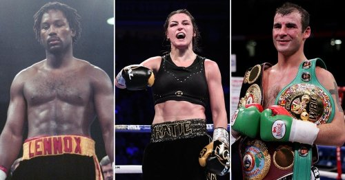 Tyson Fury and Anthony Joshua lead the way in Best of Britain and Ireland vote