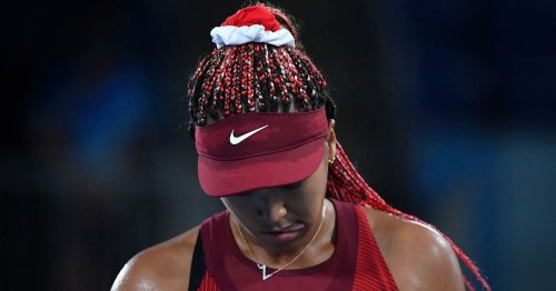 Osaka crashes out of Tokyo Olympics with third round loss to Vondrousova
