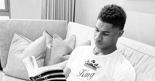 Marcus Rashford teams up with charity to get more kids reading books