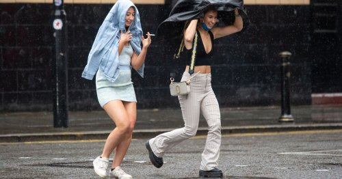 June 'monsoon' to soak Brits before temperatures soar back to 26C next week