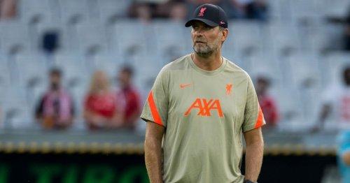 Klopp handed two-man transfer shortlist as Liverpool eye new striker target