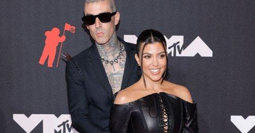 Travis Barker covers up ex's name with tattoo of Kourtney Kardashian's lips