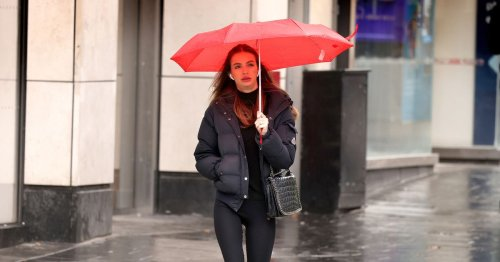 Heavy rain and 69mph winds as Brits to be hit by colder temperatures across UK