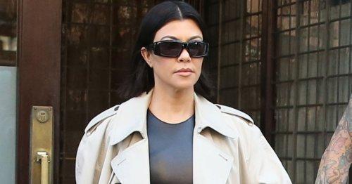 Kourtney Kardashian accused of 'brattish behaviour' after row on flight