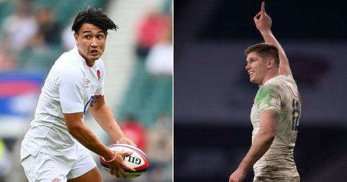 Owen Farrell lauds 'massive talent' Smith as they compete for England spot