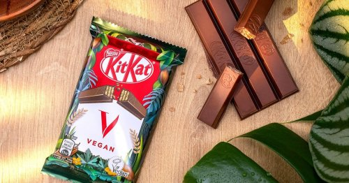 New vegan KitKat is available in UK stores from today