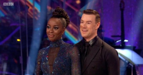 AJ Odudu and Kai Widdrington 'dating' after falling for each other on Strictly