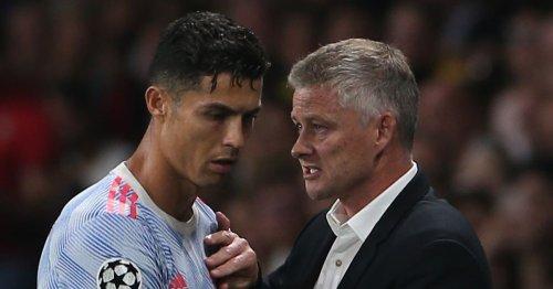 Ronaldo's 'four-word blast' at Man Utd stars in Solskjaer intervention