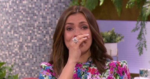 Kym Marsh sobs as she begs terminally ill dad 'don't leave me' in emotional chat