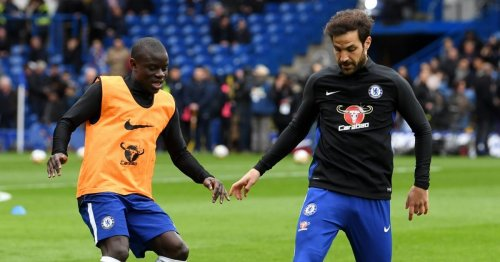 Cesc Fabregas explains N'Golo Kante's Brazilian-inspired nickname at Chelsea