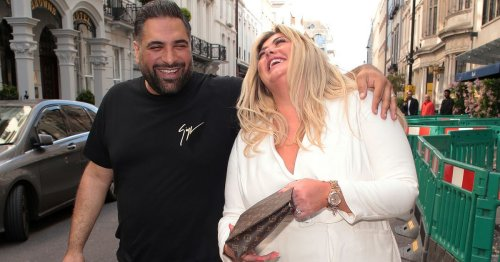 Gemma Collins cosies up to male friend as she heads out for merry meal