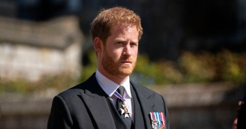 Prince Harry 'returns home to Meghan Markle as he misses Queen's 95th birthday'