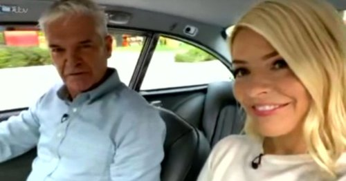 This Morning's Phil 'cooler than James Bond' as he drives iconic car to studio