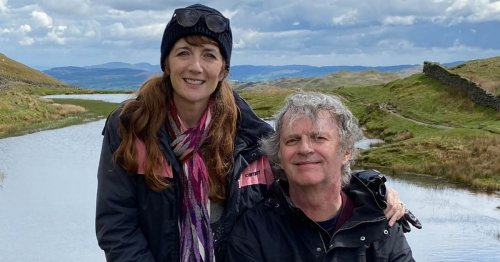 Paul Merton and Suki Webster's marriage has 'four-wheeled passport to paradise'