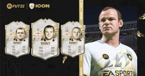 Man United legend Wayne Rooney confirmed as new FIFA 22 Ultimate Team ICON