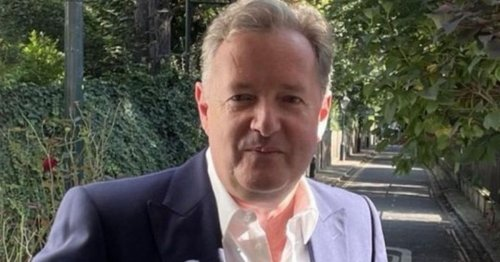 Piers Morgan finally gets to use his LA swimming pool after two years away