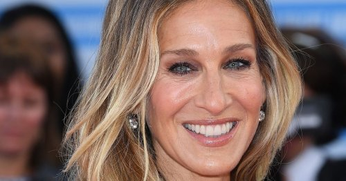 SJP shares rare snap of son as he heads off to high school graduation