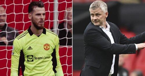 David de Gea disagrees with Ole Gunnar Solskjaer over Man Utd defeat to Villa