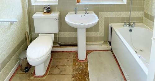 Couple transform bathroom for just £1,200 after making £70k profit in home sal