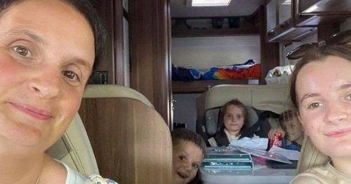 Britain's biggest family the Radfords make 'amazing memories' on Scottish break