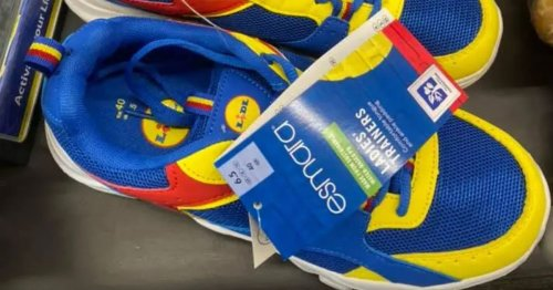 Mum accused of embarrassing her kids after snapping up Lidl trainers