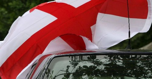 Football fans warned they could face £1k fine for flying England flag from cars