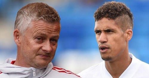 Solskjaer hints at Man Utd change as Raphael Varane transfer hits setback