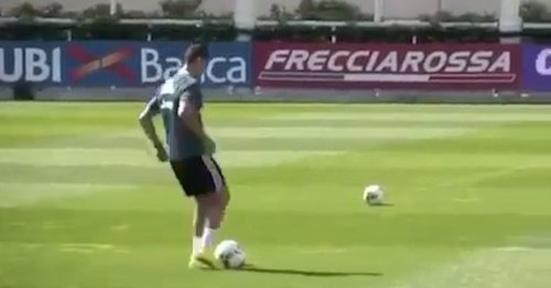Ronaldo pulls off remarkable trick shot after ramping up Juventus return