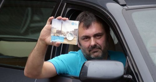 Man thrown out of Tesco for using £100 coin to pay for fuel wins £5,000 compo