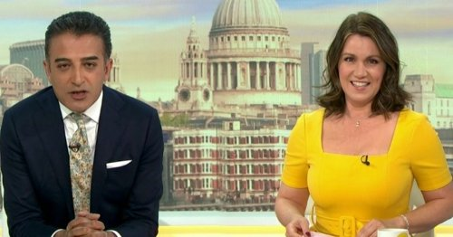 GMB's Adil Ray makes cutting dig at Piers Morgan over mocking of Meghan book