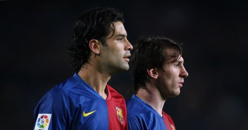 Lionel Messi snubbed as Barcelona's best ever by former team-mate Rafael Marquez