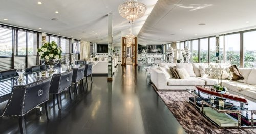 Hugh Grant's former Love Actually penthouse with roof hot tub on sale for £7.95m