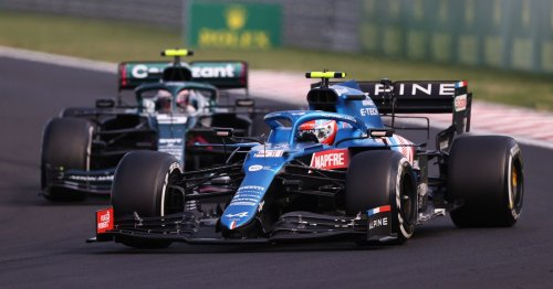 Ocon wins chaotic Hungary Grand Prix after first lap crash involving Verstappen