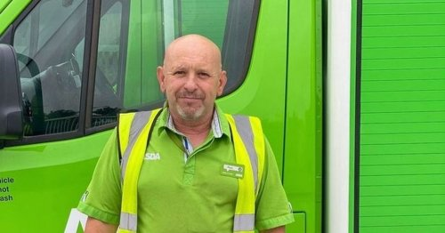 Heroic Asda driver saves pensioner's life during delivery after hearing cries