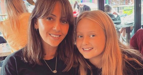 Corrie's Samia Longchambon shares rare snap of 12 year old daughter on birthday