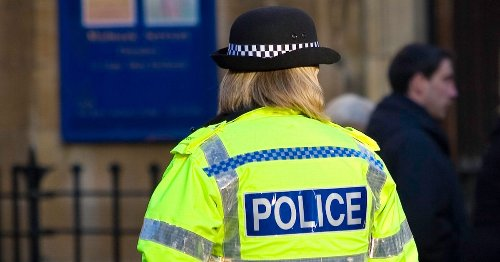 Penny Lancaster spotted on patrol after qualifying as special Police Constable