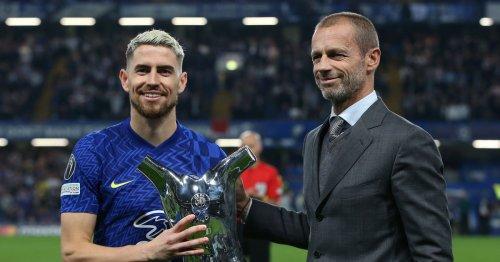 Chelsea star Jorginho takes aim at Rio Ferdinand with UEFA award swipe