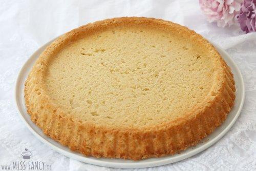 Grundrezept Mandelboden für einen Obstkuchen | Miss Fancy - Food & more Blog