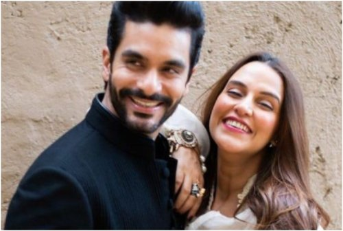 'I Wish We Weren't Isolated' — Neha Dhupia On Not Being With Angad Bedi On Their Wedding Anniversary