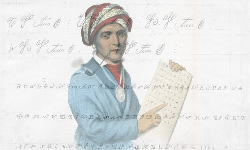 Sequoyah and the Almost-Forgotten History of Cherokee Numerals