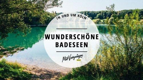 11 wunderschöne Badeseen in und um Köln, die nicht jeder kennt