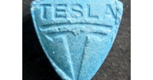 Warning issued over dangerous blue 'Tesla' pills following death and hospitalisations