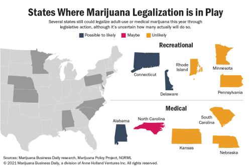 Marijuana reform outlook: Hopes dim in Rhode Island, but Texas advances