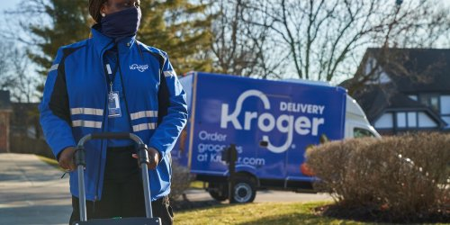 Kroger and Ocado bring bots to new hi-tech facility as digital competition among grocers heats up