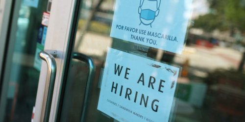 U.S. job openings soar to record 8.1 million, but businesses can't find enough workers