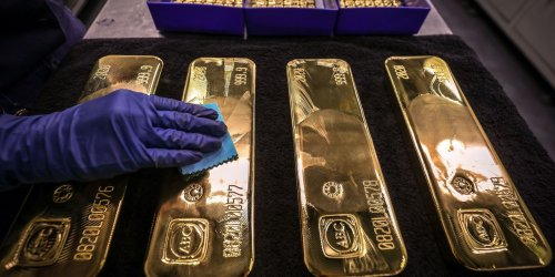 Gold prices decline after first close below $1,800 in nearly 3 weeks