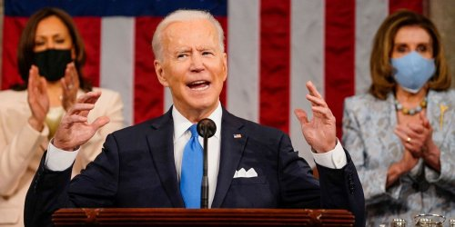 The word 'jobs' appeared more than 40 times in Biden's first speech to Congress