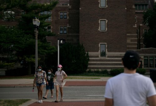 Michigan State University removes mask requirements for outdoor settings