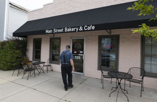 Michigan's Best Local Eats: The cronut at Leslie's Main Street Bakery & Cafe will melt in your mouth